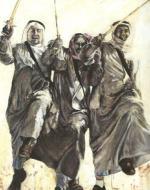 مي السعد تحتفي بالرقصات الخليجية في لوحاتها