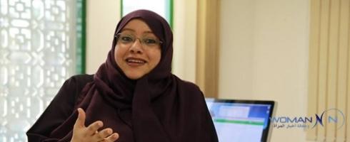 سمية الجبرتي أول رئيسة تحرير في السعودية