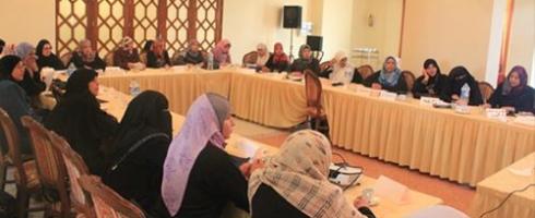 """""""المختارات"""" مقصد نساء غزة لحل مشكلاتهن"""
