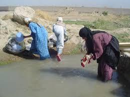 معانات المرأة الريفية في العراق