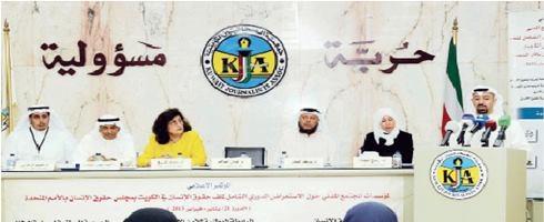 الكويتية تعاني التمييز وانتهاك حقوقها المدنية