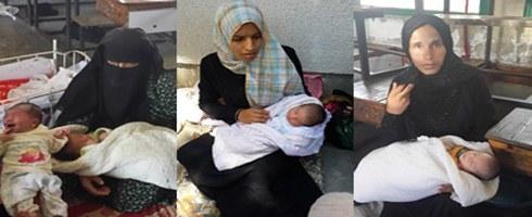 نساء فلسطينيات يروين حكايتهن مع الولادة تحت القصف الإسرائيلي