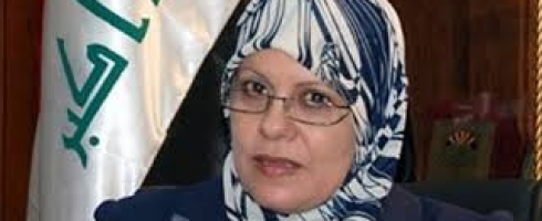 وزيرة شؤون المراة العراقية متفائلة بمشاركة اوسع للمرأة في الحكومة المرتقبة