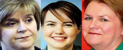 ثلاث نساء يقدن اسكتلندا بعد الاستفتاء