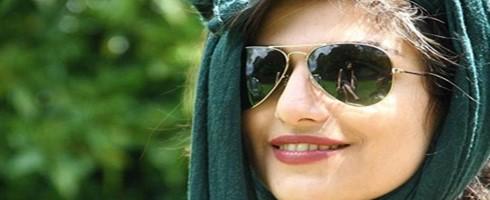 إيرانية معتقلة لمشاهدة كرة الطائرة تضرب عن الطعام