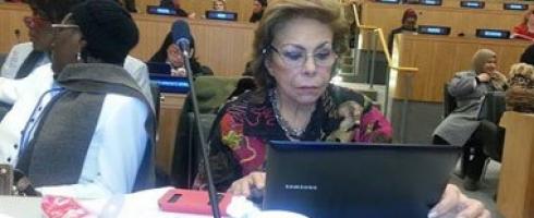 تلاوي: يجب تمكين المرأة المصرية والعربية في كل المجالات