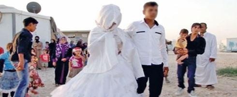 الزواج المبكر واحد من أشكال الاعتداء على المرأة والطفل