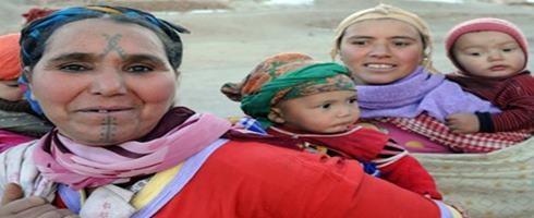 نساء واحات المغرب يخرجن من العزلة
