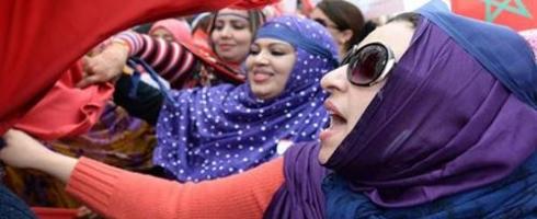 الاستقطاب الإيديولوجي والمرأة في المغرب