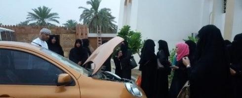 ورشة تدريبية في صيانة المركبات للنساء العمانيات بالبريمي