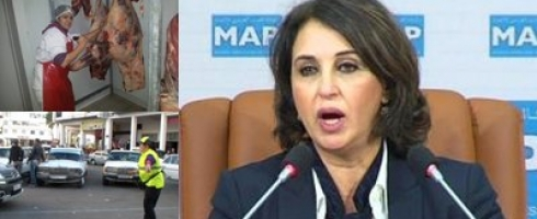 بالصور: مغربيات يكسرن احتكار الرجل للجزارة.. حراسة السيارات ورئاسة الأحزاب السياسية