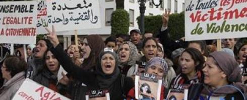رد ضعيف على العنف ضد المرأة في المغرب
