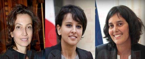 نجاة ومريم وأودري .. ثلاث مغربيات في الحكومة الفرنسية