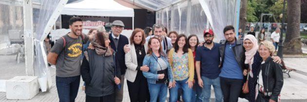 لقاء مساواة مع الجالية العربية في مدينة كورونا