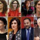 حكومة اسبانية جديدة ثلثاها من النساء