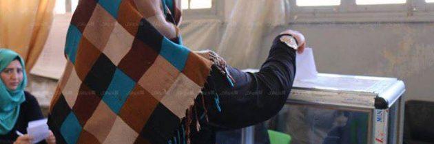 سيدتان في المكتب التنفيذي لمحافظة دير الزور