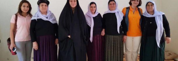 فاطمة البهادلي عراقية تفوز بجائزة إقليمية للمدافعين عن حقوق الإنسان