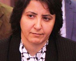 """ليبيا: """"الشريف"""" اول سيدة عربية تتولى رئاسة اتحاد نقابات العمال نيرمين الشريف."""