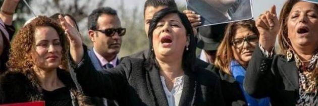 """بسبب شعار """"كلنا عاهرات""""… اتهام أرملة شكري بلعيد بالإساءة لنساء تونس"""