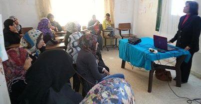 محاضرة عن الصحة الانجابية للضيوف السوريين في الأردن