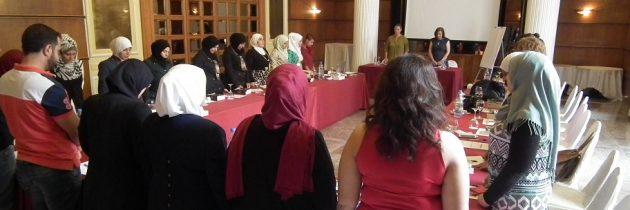 ورشة تدريبية هن أهمية التنظيم التنظيم النسوي السوري