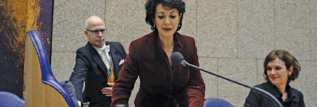 المغربية خديجة عريب رئيسة للبرلمان الهولندي