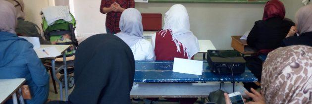 ورشات للاجئات السوريات في لبنان