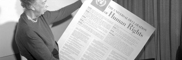 نساء شاركن في صياغة الإعلان العالمي لحقوق الإنسان