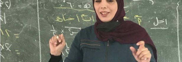 فلسطينية فازت بجائزة أميركية.. رنا زيادة المعلمة الغزية التي ألهمت العالم