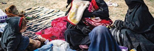 """معاناة المرأة متواصلة في شرق سوريا من تنظيم """"الدولة"""" إلى """"قسد"""""""